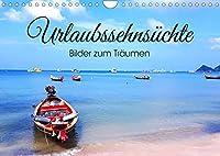 Urlaubssehnsuechte - Bilder zum Traeumen (Wandkalender 2022 DIN A4 quer): Wunderschoene Impressionen von Urlaubsorten, die zum Traeumen einladen! (Monatskalender, 14 Seiten )