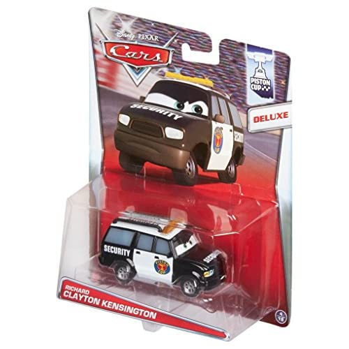 Mattel Disney Cars Cast–Statuetta di Auto, Scala 1: 55 0 Clayton Kensington