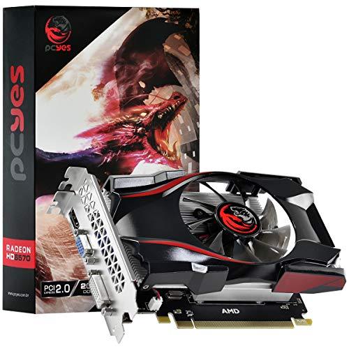 PLACA DE VIDEO PCYes AMD RADEON 6570 2GB GDDR5 128 BITS GAMING EDITION - PJ65702DR5128