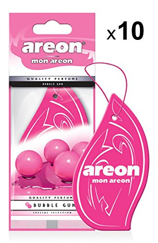 AREON Mon Ambientador Coche Bubble Gum Chicle Rosa