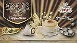 Crispo Confetti Snob Cappuccino - Colore Bianco - 4 confezioni da 500 g [2 kg]...