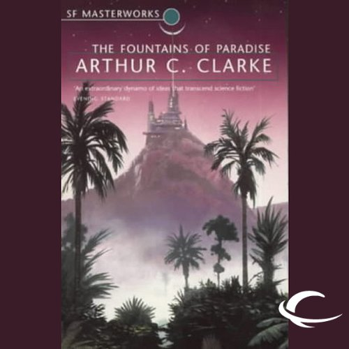 The Fountains of Paradise audiobook cover art