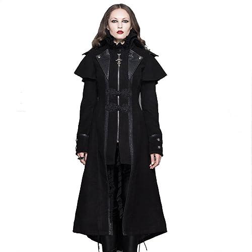 29bf79033 Gothic Trench Coat: Amazon.com