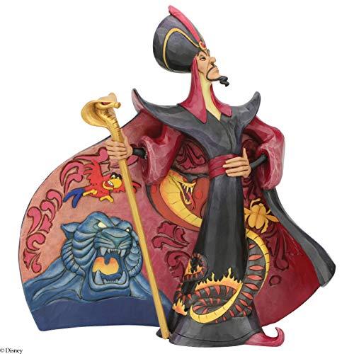 Enesco Disney - Figura Decorativa de Jafar, Multicolor, Talla única (6005968)
