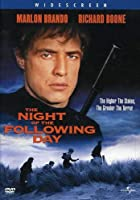Night of the Following Day [DVD] [Import]