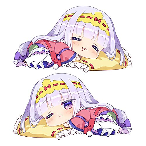 futurecos Sleepy Princess in The Demon Castle Cute Princess Syalis Plushies Plush Toy Pillows Anime Throw Pillows Back Cushions Christmas Birthday Gifts for Teens Girls Boys