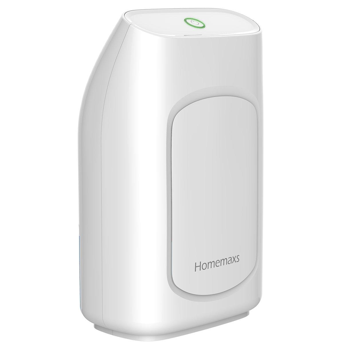 HOMEMAXS Luftentfeuchter, 19ml Portable Raumentfeuchter, Flüsterleiser  Elektrisch Luftreiniger-Autoabschaltung für Badezimmer, Schlafzimmer,  Schrank,