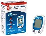 Swiss Point Of Care GK Dual medidor glucosa y cetonas (mmol/l) | Para la medición de la glucosa y las cetonas beta | Unidad de medida: mmol/l | otros accesorios de medición disponibles por separado