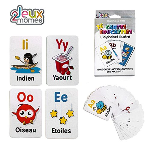 CARTES EDUCATIVES - ALPHABET