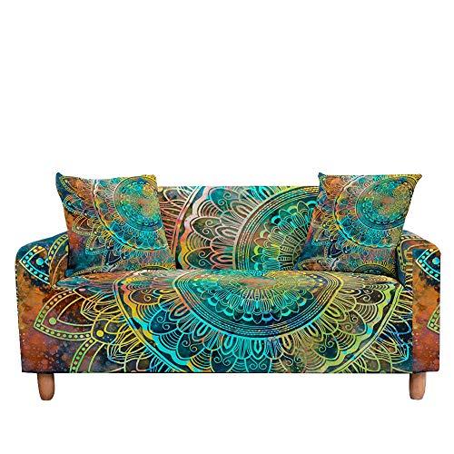 Stretch Sover Cover für Wohnzimmer Elastic Case für Sectional Sofa CoverUniversal Sessel Möbelbezüge, Farbe 12,2 Sitzer (145,185 cm)