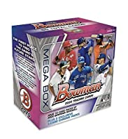 2020 Bowman Mega Box Factory Sealed Look for Jasson Dominguez Bobby Witt rookie cards and autographs and a BONUS Leaf Babe RUTH Baseball Card