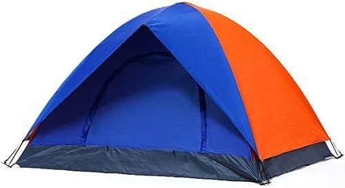 Wangwen Alpinisme Tente Multi-Couche Double Tente Tige De Verre Fonction Tente écran Solaire Tente Imperméable Convient for Les Sports De Plein Air