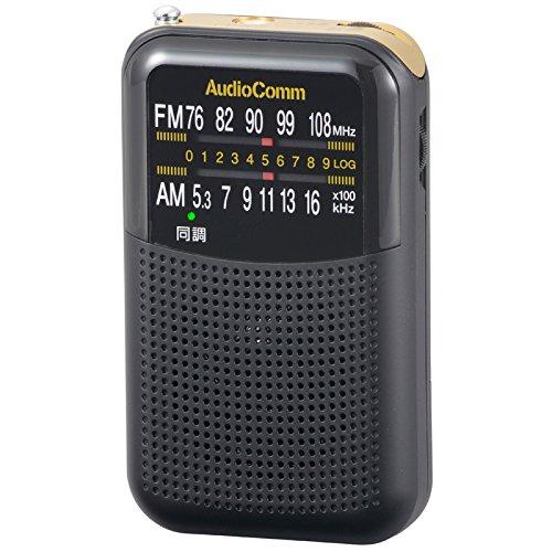 オーム電機 『AudioComm FMステレオAMポケットラジオ 07-8620 RAD-P130N』