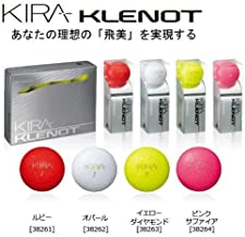 [KASCO] KIRA KLENOT golf Ball 1 dozen (12 pcs) color:yellow Diamond from japan