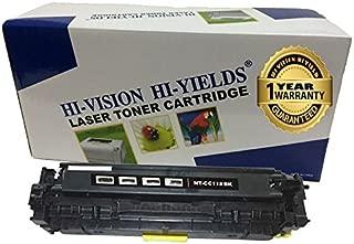HI-VISION Compatible Canon 118 Black (2662B001) Premium Toner Cartridge Replacement for imageClass MF8580cdw, MF8380Cdw, MF8350Cdn, LBP7660cdn and LBP7200cdn Color Laser Printer (1 pack)