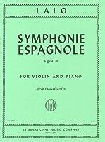 ラロ: スペイン交響曲 Op.21/フランチェスカッティ編/インターナショナル・ミュージック社/ピアノ伴奏付バイオリン・ソロ楽譜