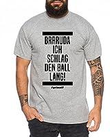 Trendiges Herren T-Shirt mit originellem Druck Hochwertige Druckfarben, keine billige Flex- oder Flockfolie 100% Baumwolle Pflegehinweis: Maschinenwäsche, 40 Grad Reguläre Passform- entspricht den Größenangaben
