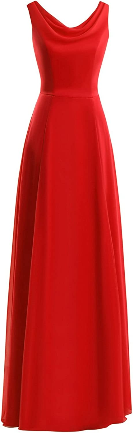 Dasior Women's Long Prom Gown Fornmal Evening Party Dress