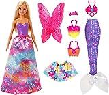 Barbie Dreamtopia set de modas y accesorios, juguete para niñas y niños +3 añis (Mattel GJK40) , color/modelo surtido