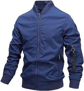 Men's Jackets and Coats Spring Men's Windbreaker Bomber Jacket Autumn Men