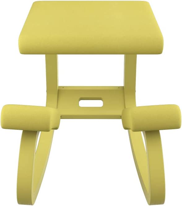 Varier Variable Balans Monochrome Original Kneeling Chair Designed by Peter Opsvik Ochre