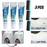 Juego avanzado removedor rasguños para el automóvil, Juego de Pasta compuesta para pulir el Cuerpo del automóvil, Kit Pasta compuesta para el Cuerpo de la Pintura de reparación de rasguños (3PCS)