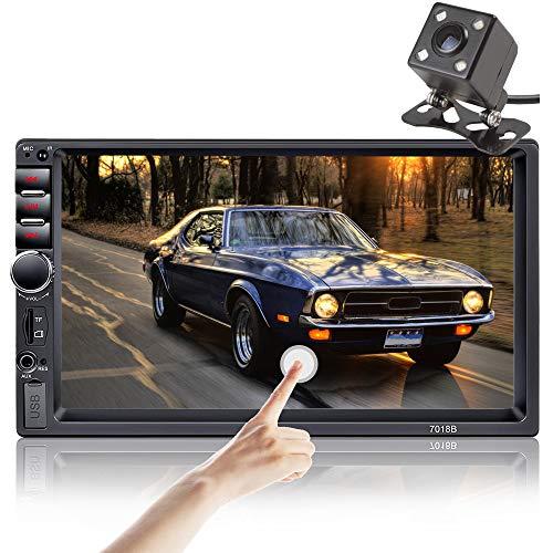 potente para casa 2DIN Radio Car Radio Car Radio 7 pulgadas Pantalla táctil de alta definición Sistema de manos libres Bluetooth …