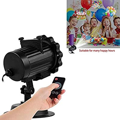 Rabther Multi-Color LED Projector Light, 16 PCS Snow Starlight Landscape Laser Headlights, Lightweight and Portable, USB Rechargeable Christmas Party Lights