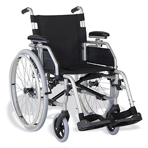 "Ayudas Dinámicas - Silla plegable""apolo"" rueda 600,talla 45 cm"