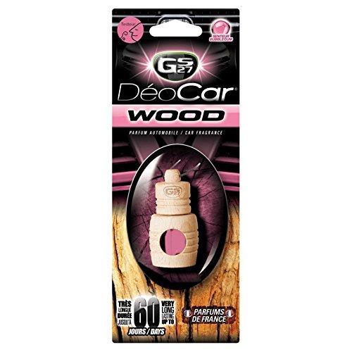 Désodorisant DEOCAR WOOD parfum BUBBLE GUM
