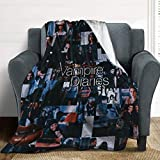 Avber Micro Fleece Blanket Soft and Warm Winter Throw Ultra-Soft Lightweight Plush Bed Couch Living Room