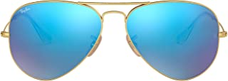 Rb3025 Classic Mirrored Aviator Sunglasses