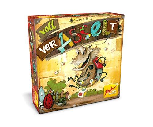 Zoch 601105131 Voll verasselt, Karten- und Würfelspiel, Mehrfarbig