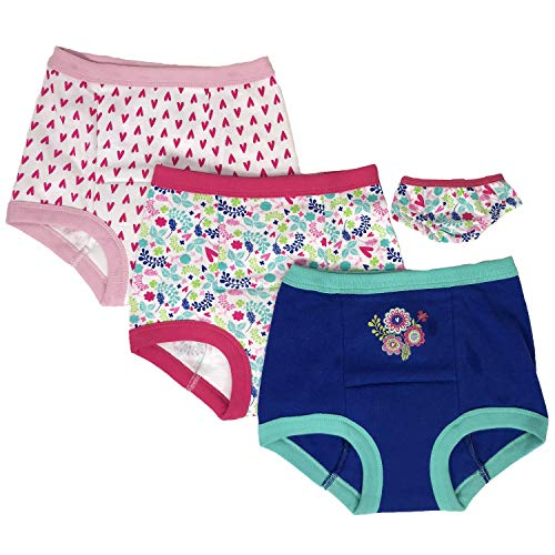 Hasbro Girls' Toddler Baby Alive 3-Pack Training Pant with Matching Pair for Doll, 4T