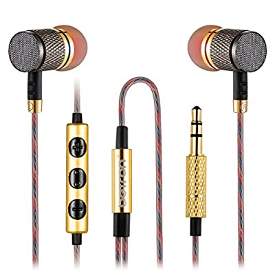 Betron YSM1000 In-Ear Headphones with Microphone and Volume Control, Noise Isolating Earphones, Pure Sound and Powerful Bass for Android Smartphones from Betron