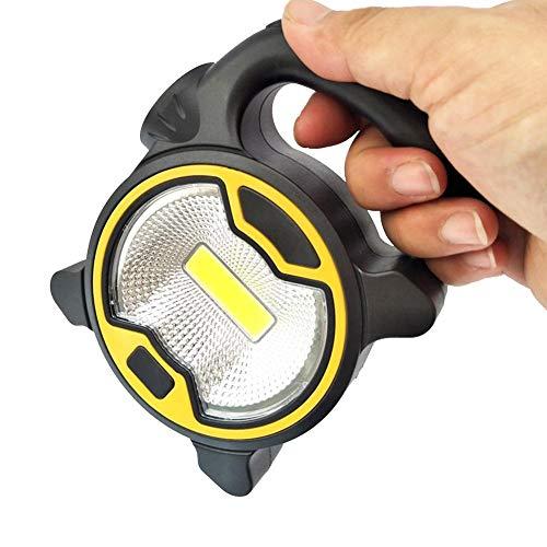 BRANDNEWS Multifunktionale Mini Camping Lampe Tragbare LED Camping Laterne Helle Suchscheinwerfer Led USB Lampe Taschenlampe für Nachtfischen, Jagen Good normal