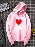 MU-PPX Plus Size Thick All Match Jumper Casual Mujer Sudaderas Mujeres Sudaderas Chándal Otoño, Rosa, XXXL
