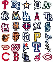 MLB Complete Baseball Sticker Set (50 Stickers) w/ 20 Extras. Dodgers Yankees Mets World Series Champions Cubs Red Sox Giants Tigers Cardinals Brave Rangers White Angels Indians Pirates Astros Marlins