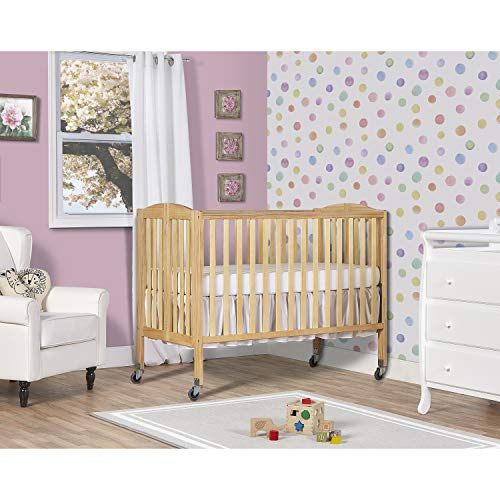 %17 OFF! Dream On Me Folding Full Size Convenience Crib, Natural