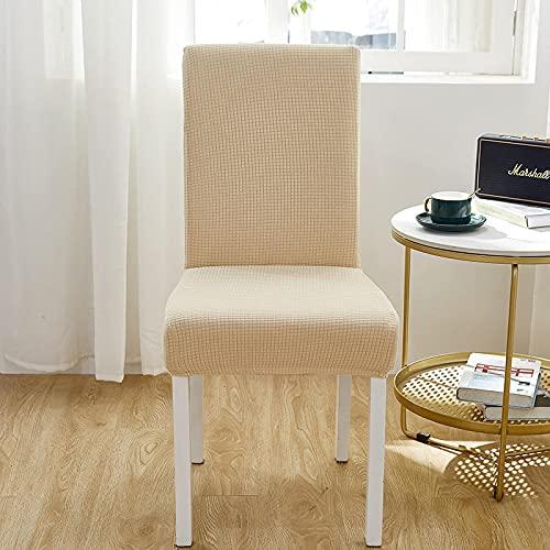 AIBABY Funda De Silla Simple De Color Sólido El Diseño Elástico No Se Cae Fácilmente, Es Fácil De Cuidar La Funda De La Silla, Lavable, No Se Desvanece Fácilmente.