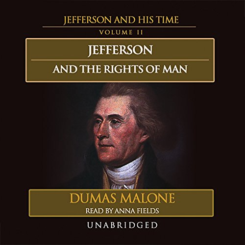 Jefferson and the Rights of Man audiobook cover art