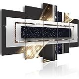 murando - Cuadro en Lienzo 200x100 cm Abstracto Impresión de 5 Piezas Material Tejido no Tejido Impresión Artística Imagen Gráfica Decoracion de Pared a-C-0038-b-p