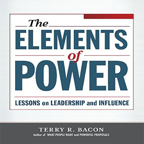 Elements of Power audiobook cover art