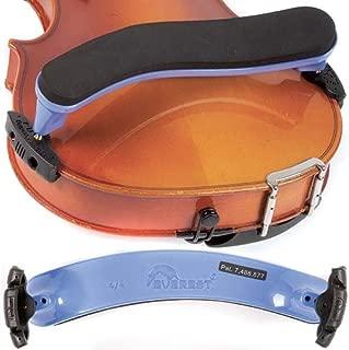 Everest ES4PU ES Series 4/4 Violin Adjustable Shoulder Rest - Purple