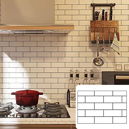 spier Adhesivo de rejilla de cocina profesional, película antiaceite, adhesivo de pared, fácil e impermeable