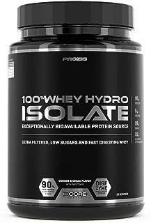 Prozis 100% Whey Hydro Isolate SS 900 g Galletas y Crema