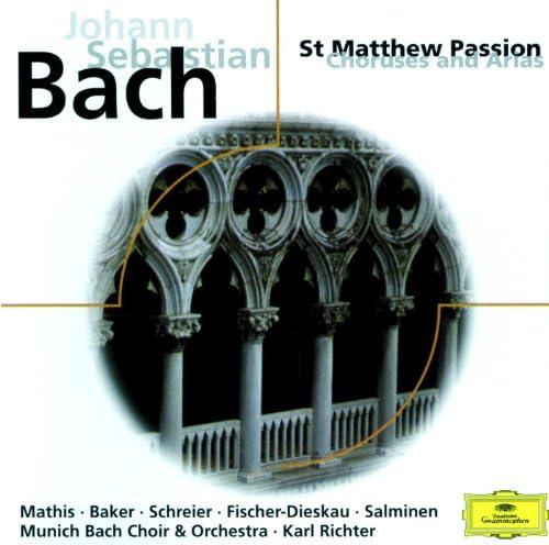 Edith Mathis, Dame Janet Baker, Peter Schreier, Dietrich Fischer-Dieskau, Matti Salminen, Die Regensburger Domspatzen, Münchener Bach-Chor, Münchener Bach-Orchester & Karl Richter