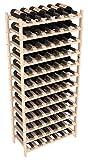 Wine Racks America Pine 72 Bottle Stackable. Unstained