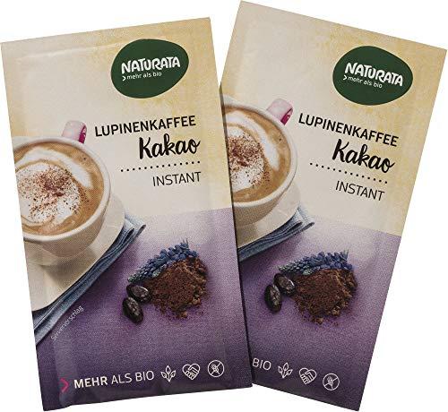 Naturata Bio Lupinenkaffee Kakao, instant, Portionsbeutel (1 x 8 gr)