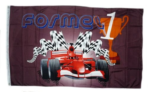 Flagge Fahne Formel 1 Pokal 90 x 150 cm